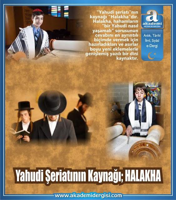 Yahudi Şeriatının Kaynağı; HALAKHA