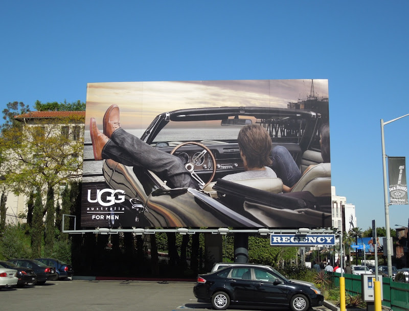 UGG for Men billboard