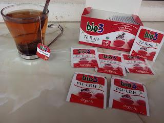 Bio3 Té Rojo Pu-erh