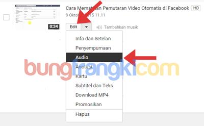 Mengganti Musik/Audio Video Youtube Setelah Diupload Karena Dicekal