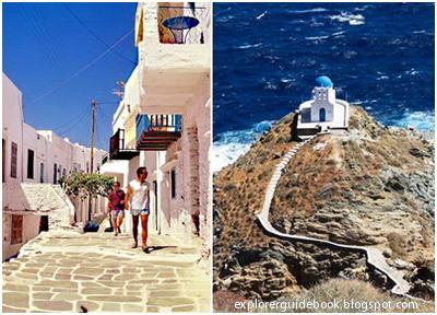 Tempat wisata di yunani santorini mykonos pulau paling indah di Yunani Sifnos island Greece