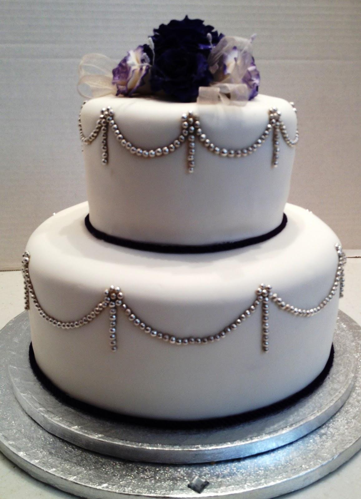 MaryMel Cakes Elegant Wedding