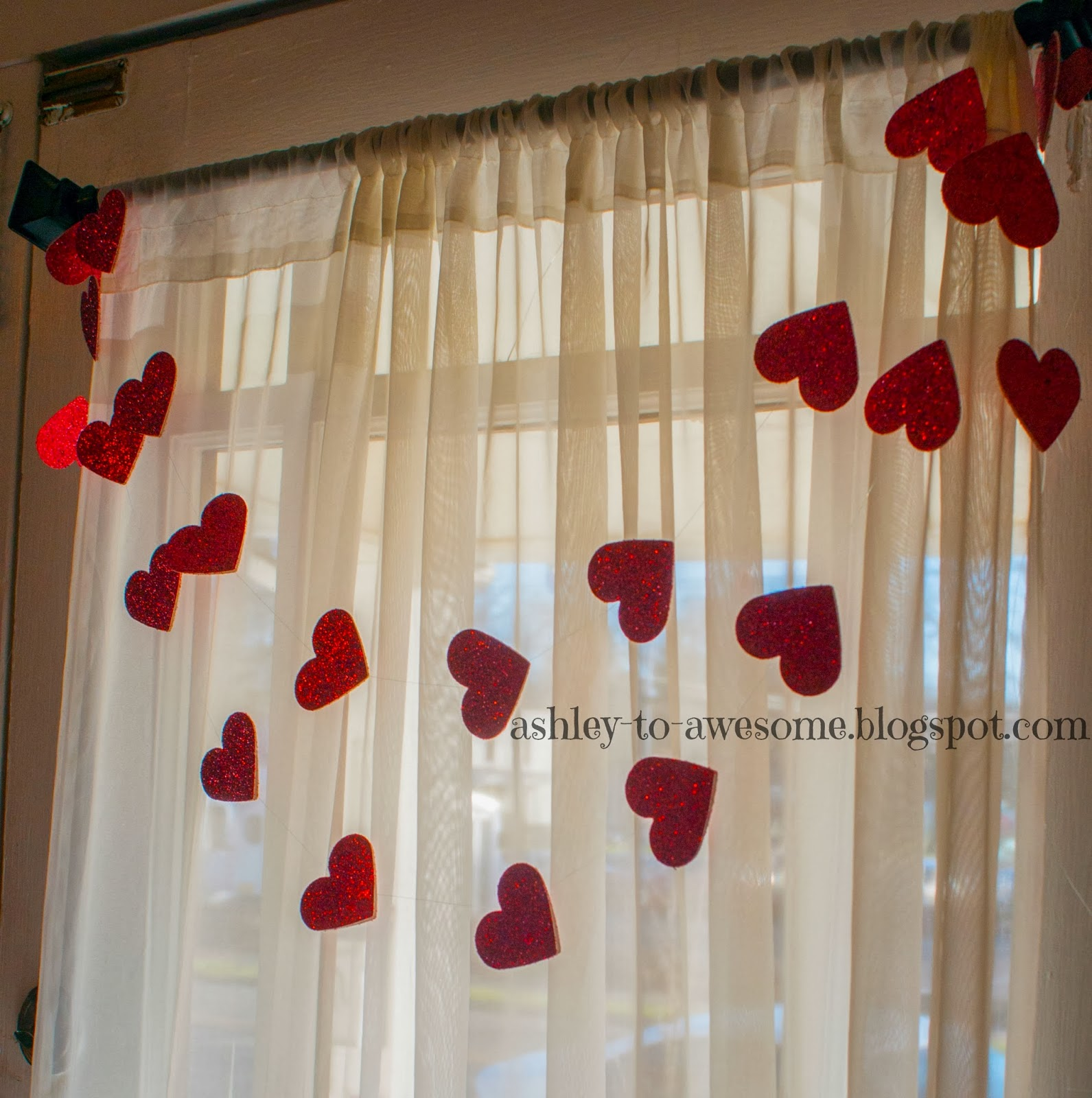 Other Than That, This Garland Was Incredibly Easy To Make And Looks  Absolutely Adorable Hanging In Our Door.