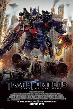 Transformers 3: Dark Of The Moon 2011 poster