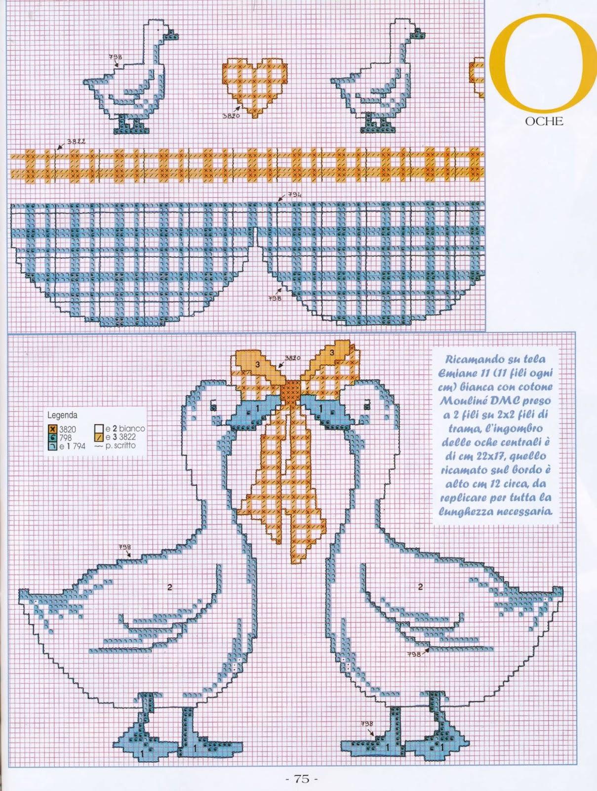 Схемы вышивка крестом шторы 21