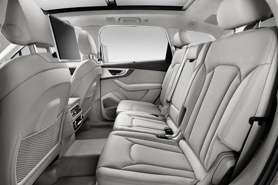 Audi Q7 (2016) Interior
