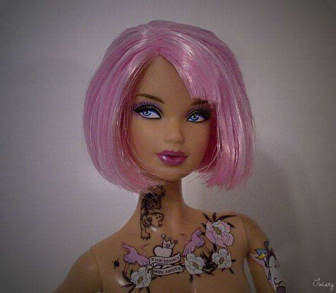 News Trend Popular Tattooed Barbie Doll Photos