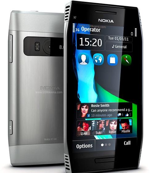 Nokia 00: Nokia C2-00, Nokia  X7-00, Nokia C1-00