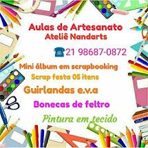 Aulas de Artesanato.