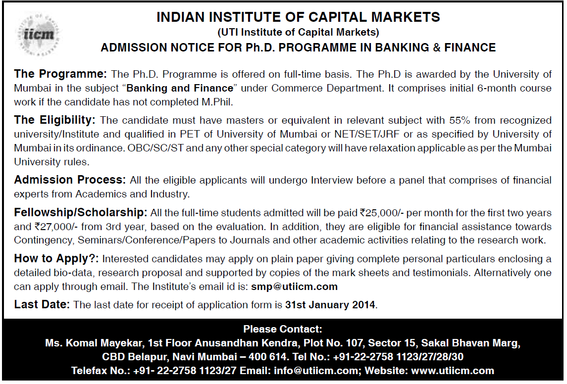 research paper on indian capital market Influence of fii flows on indian stock market ,1 in his research paper titled capital started flowing freely across national borders seeking out the highest.