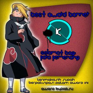 """Award """"Best Banner Award"""" Form Katsu"""