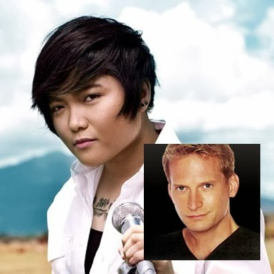 Charice and Rex Smith