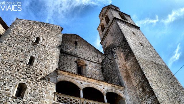 Fachada de la iglesia de la Asunción de Villacarrillo