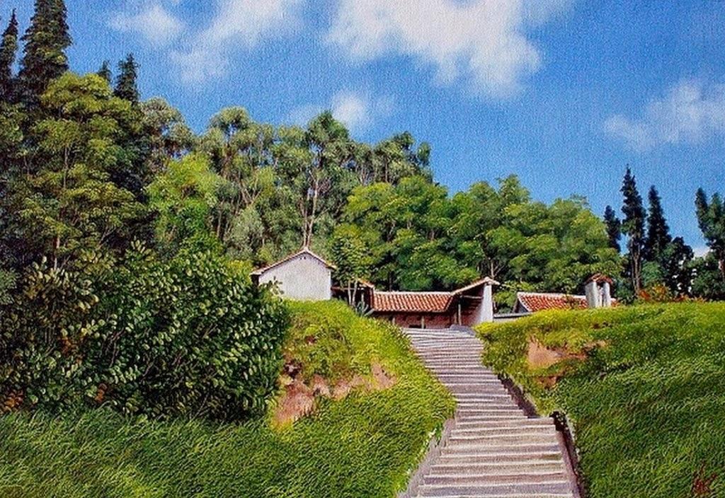 paisajes-con-casas-pintados-al-oleo