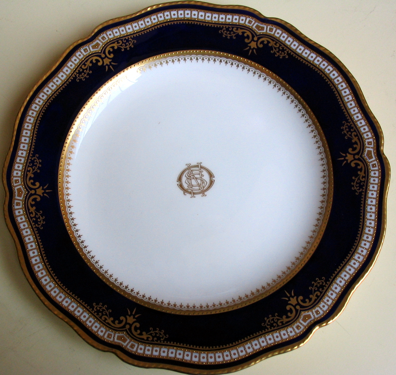 Spode Wares for the White Star Line & Spode History: RMS Titanic