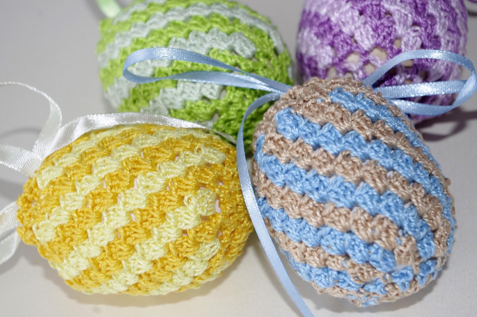 Пасхальное вязание спицами