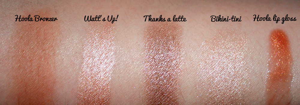 benefit the bronze of champions swatches