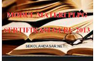Download Modul Materi PLPG Sertifikasi Guru 2013