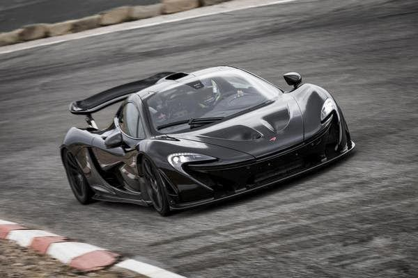 McLaren P1 hits 60 MPH in 2.6 seconds