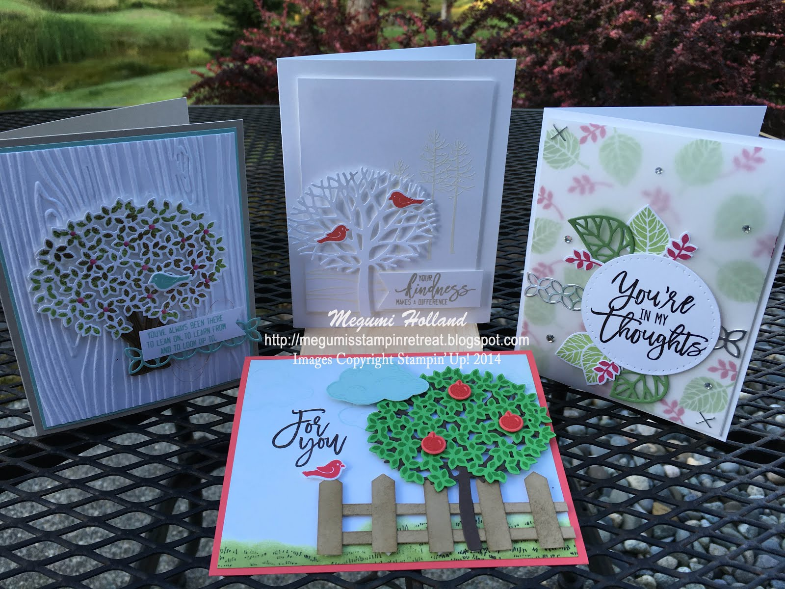 Thoughtful Branches Card Class (Aug. 28th)