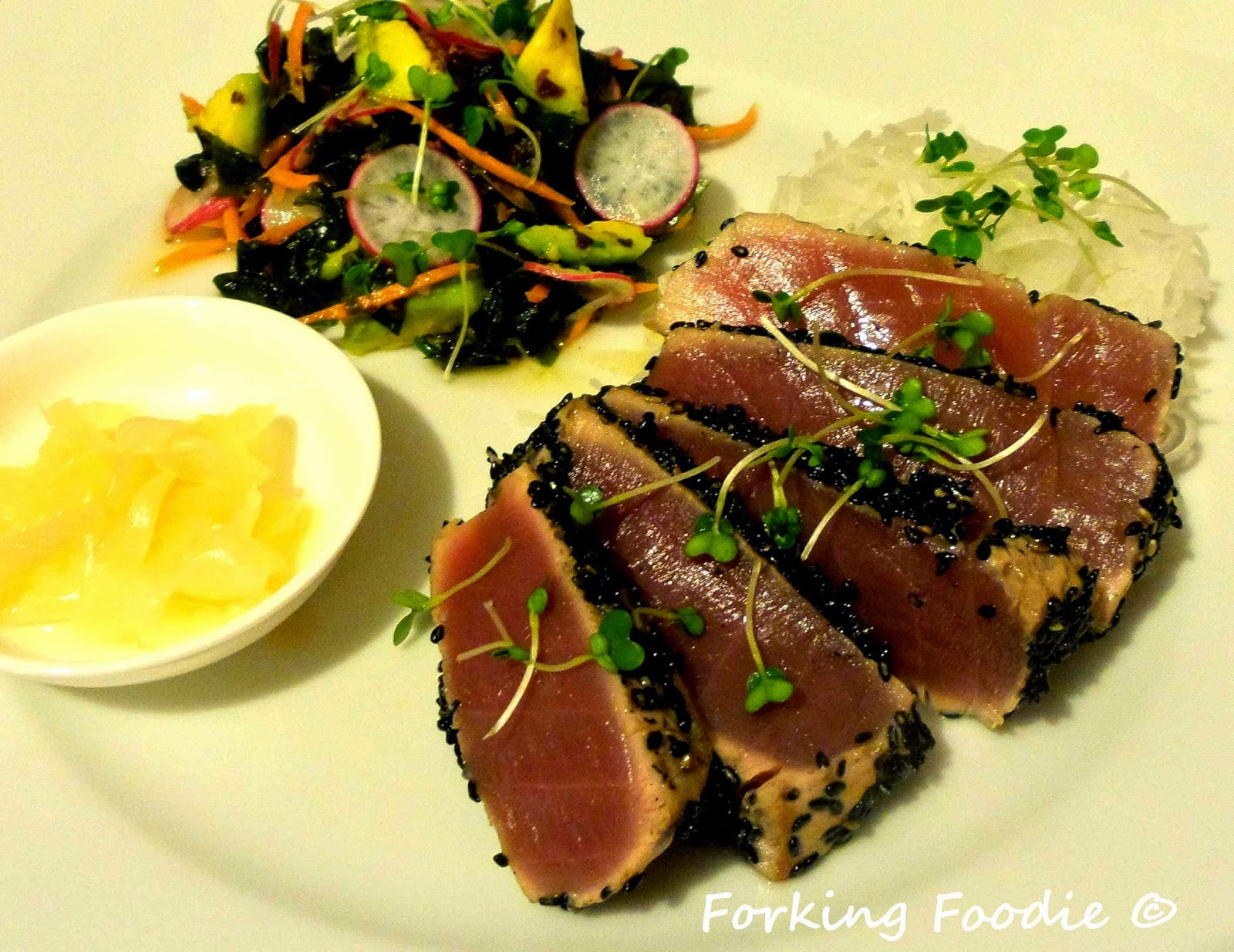 Forking Foodie: Seared Sesame Tuna with a Soy, Ginger and ...