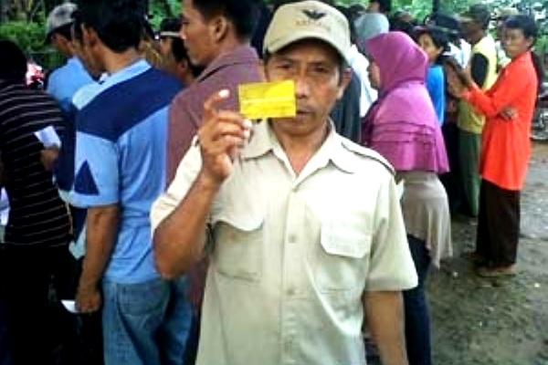 KPS (Kartu Perlindungan Sosial). Kotabumi Lampung Utara