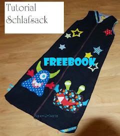Mein Schlafsack FREEbook ist bei farbenmix erhältlich =)