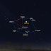 Mặt Trăng và Sao Mộc tối ngày 17/4 bao quanh bởi lục giác mùa đông