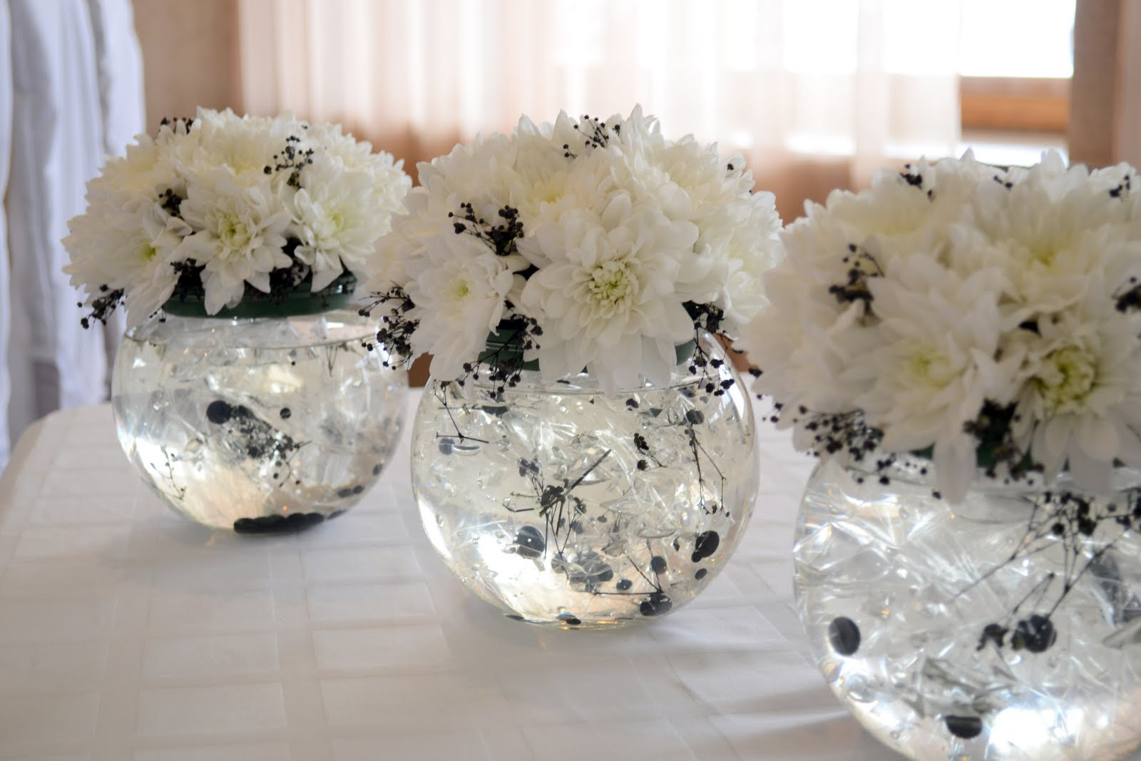 Композиция на свадебный стол своими руками фото