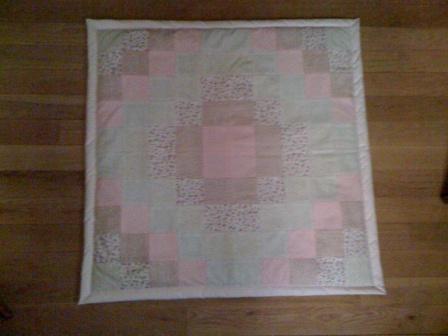 Aguja y taladro manta de suelo para beb tipo patchwork for Como saber si me afecta clausula suelo