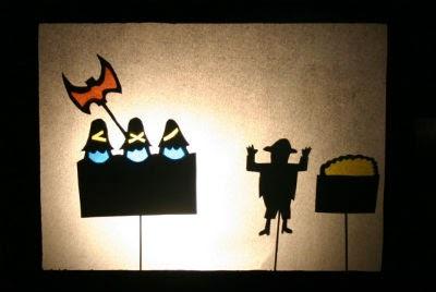 DIY manualitat infantil  teatre ombres