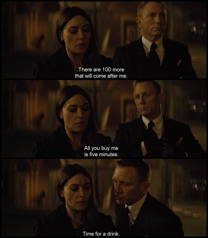 James Bond Quotes Magnificent James Bond Spectre Movie Quotes Escape Matter
