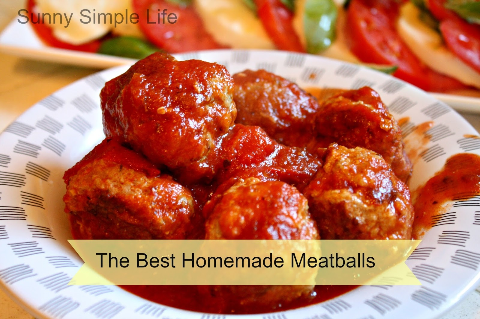 Sunny Simple Life: Homemade Meatballs