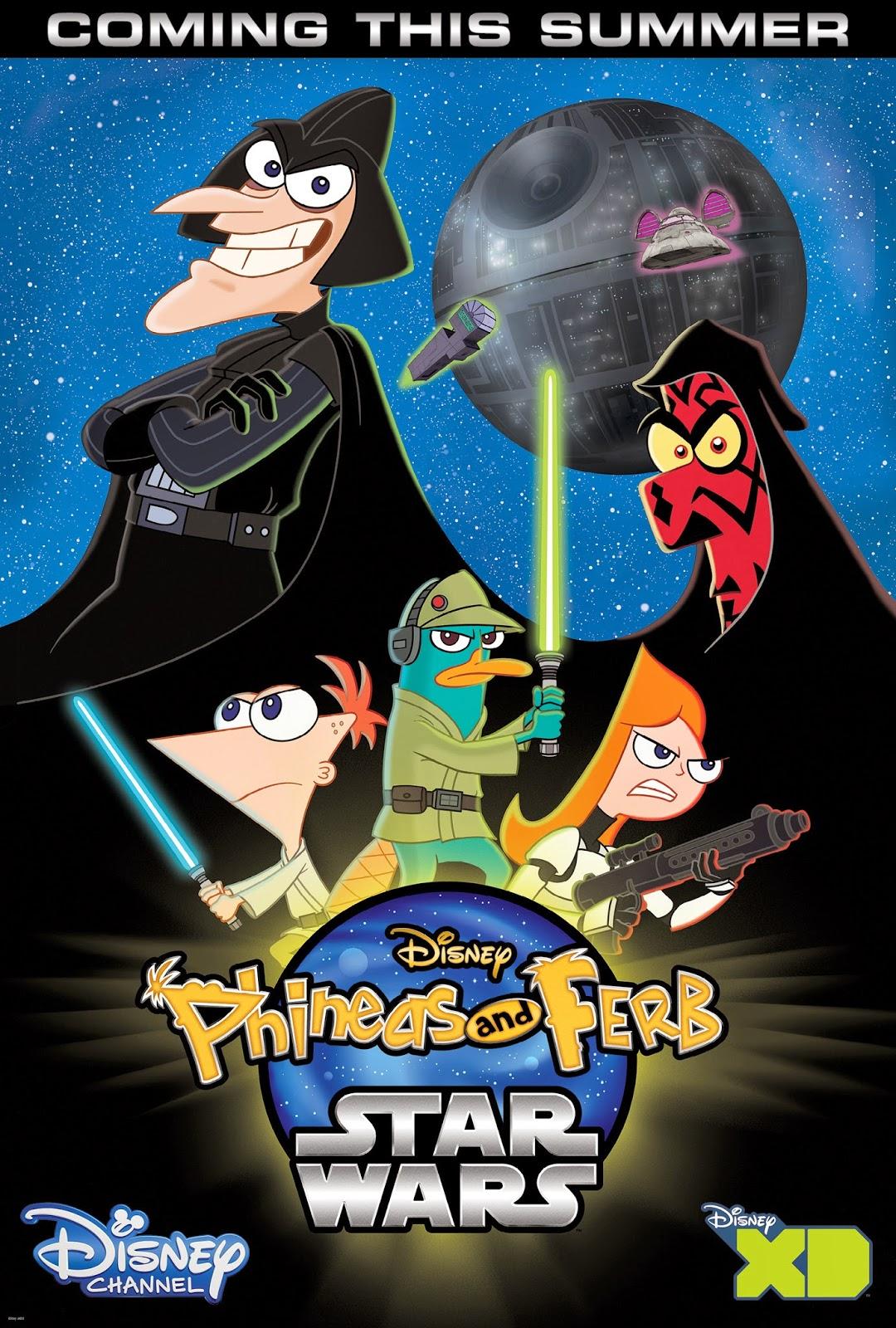Phineas y ferb: star wars