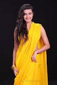 Neelam Upadhyay photos in Yellow saree from Action-thumbnail-5