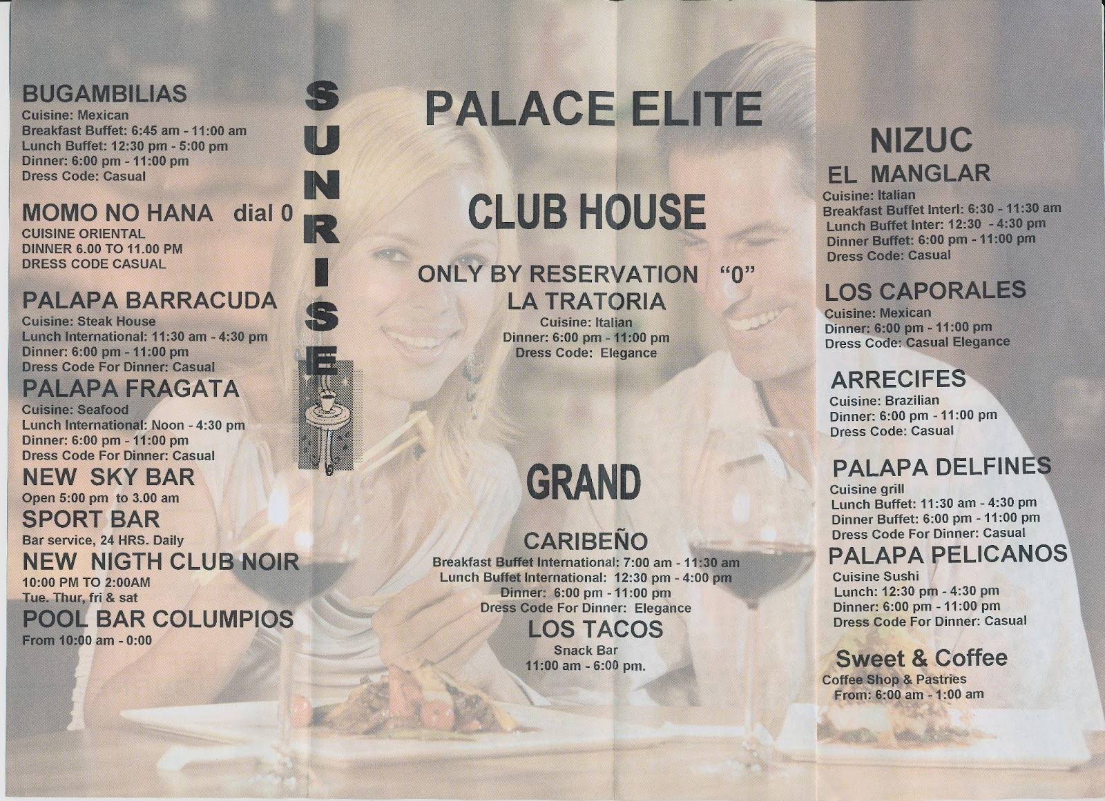Moon Palace Restaurants Menus Best