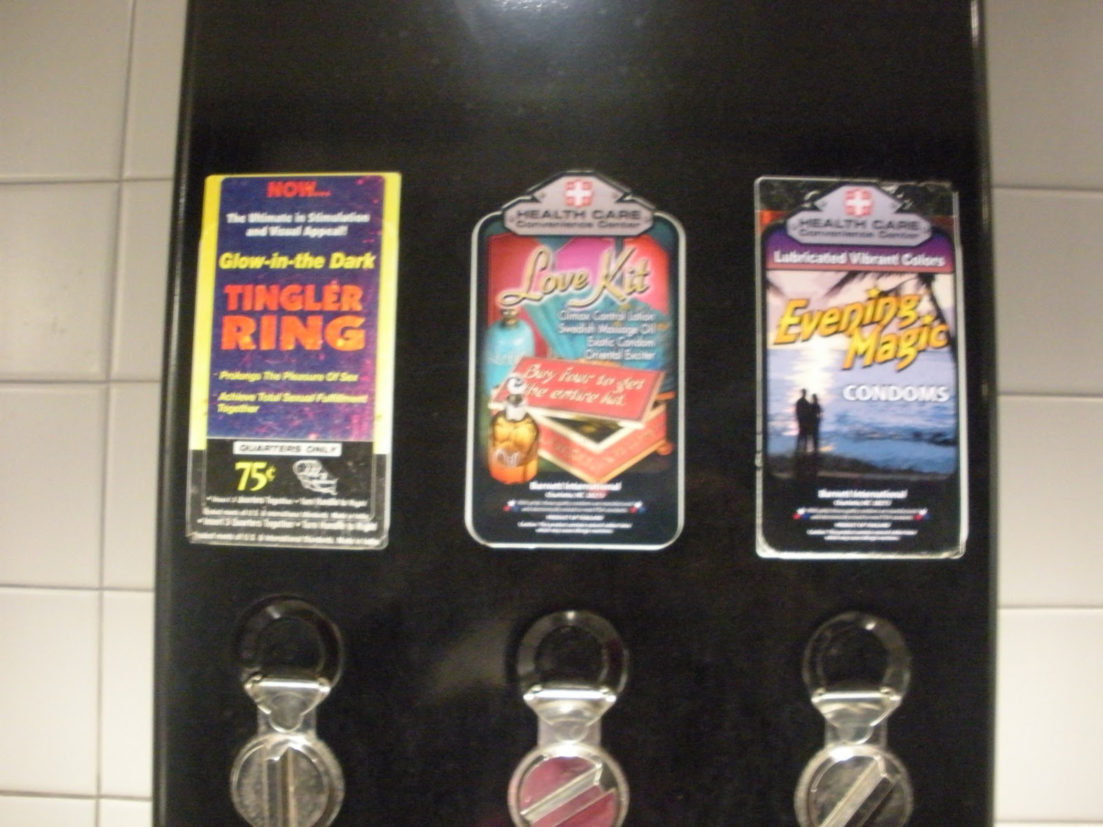 Marshmallow Kisses Gas Station Bathrooms