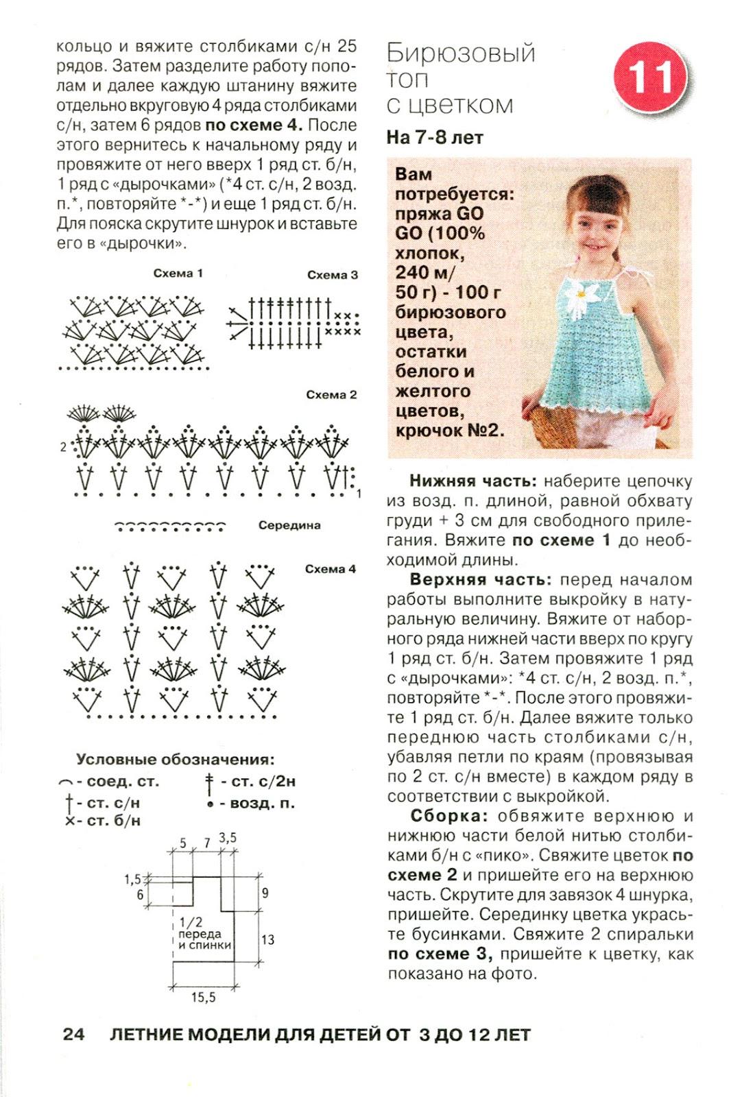 Вязание детям крючком от 0 до 3