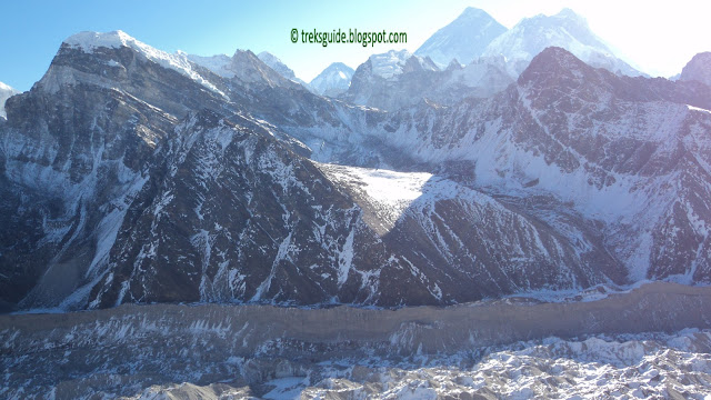 Mount Cho-yu, 8201m, near by Gokyo