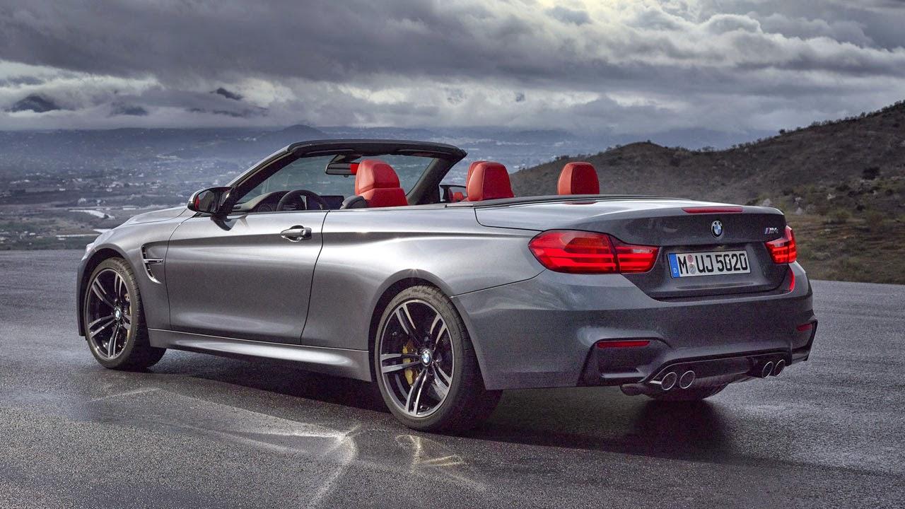 BMW M4 Convertible rear side