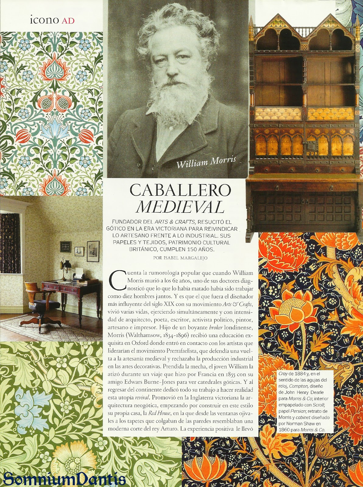 La discreta elegancia del siglo XIX inglés: Los Prerafaelitas - Página 2 Williammorris1