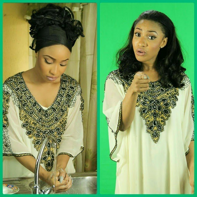 Ebola In Nigeria: Tonto Dikeh Helps Raise Awareness For The Deadly Ebola Virus