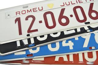 Como requisitar nova placa para veículos