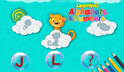 alphabets learning game