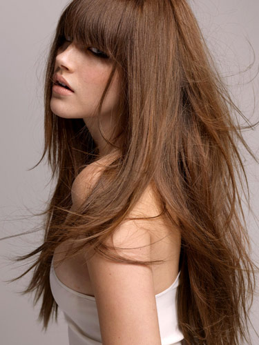 Have Haircut : Four Long & Short Hair Bangs You can Make a Decision ~ Short Hair With ...