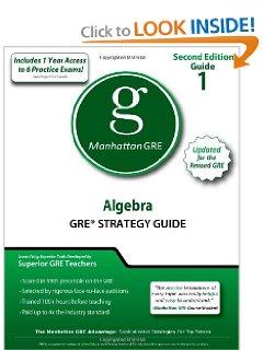 Manhattan GRE [PDF] Download: Algebra GRE Strategy Guide, 2nd Edition.pdf