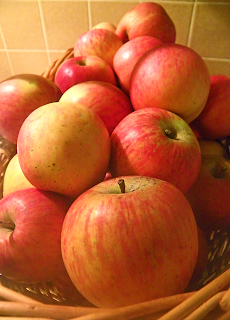 Large Basket of Apples
