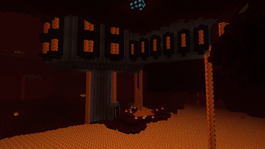 World of mining minecraft nether creations 2 castle interior in nether 3 huge nether fortress made from stone bricks and netherbricks 4 nether lava fortress you can download all the map gumiabroncs Choice Image