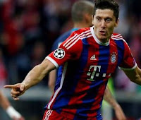 Video 5 goles Lewandowski vs Wolfsburg HD