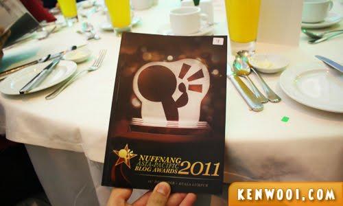 nuffnang blog awards 2011 booklet